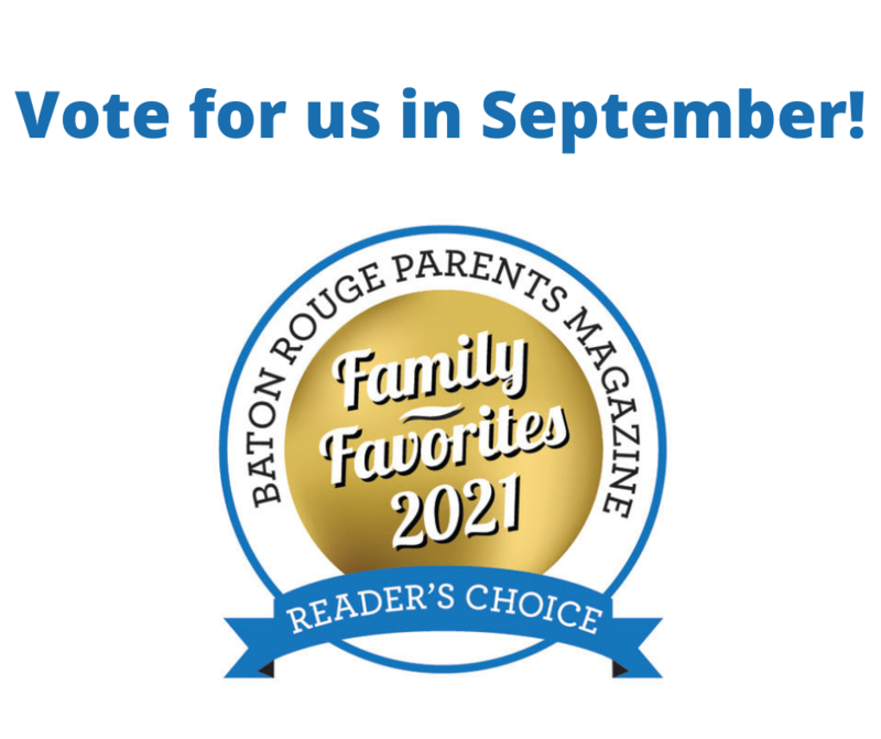 Vote for Trinity Lutheran & Marinea McGehee for Baton Rouge Parents Magazine Family Favorites Featured Photo