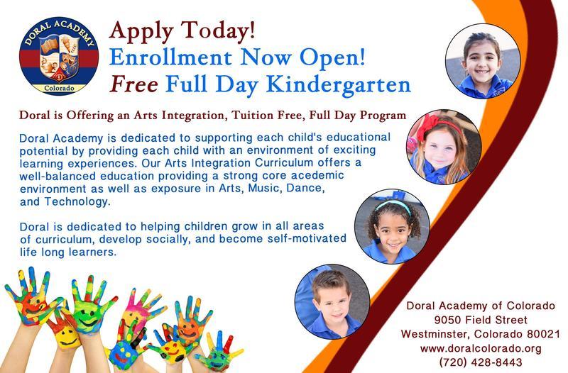 FREE Full Day Kindergarten at Doral!! Thumbnail Image
