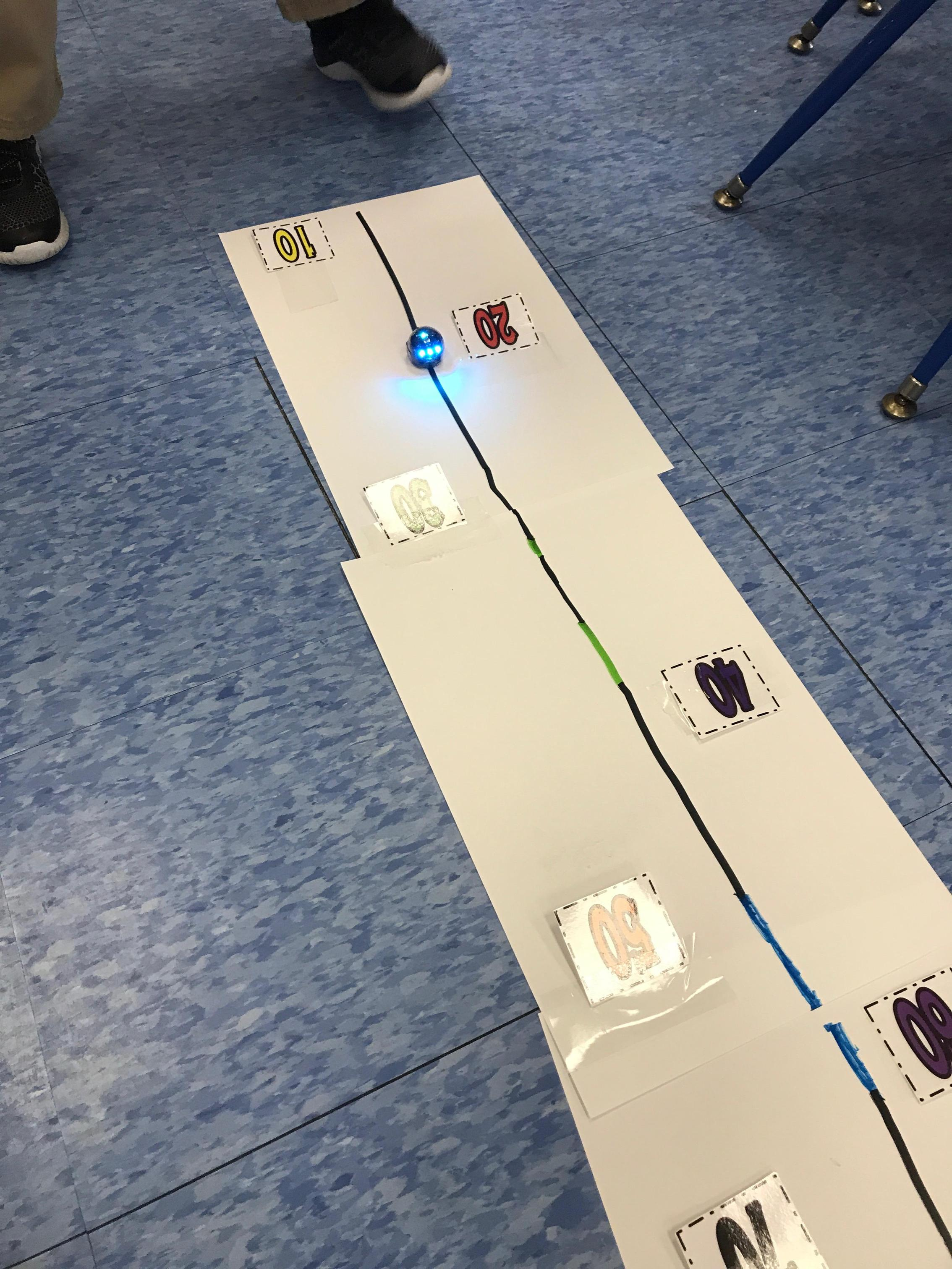 see Ozobot go