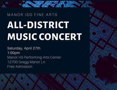 Manor ISD All District Music Concert Thumbnail Image