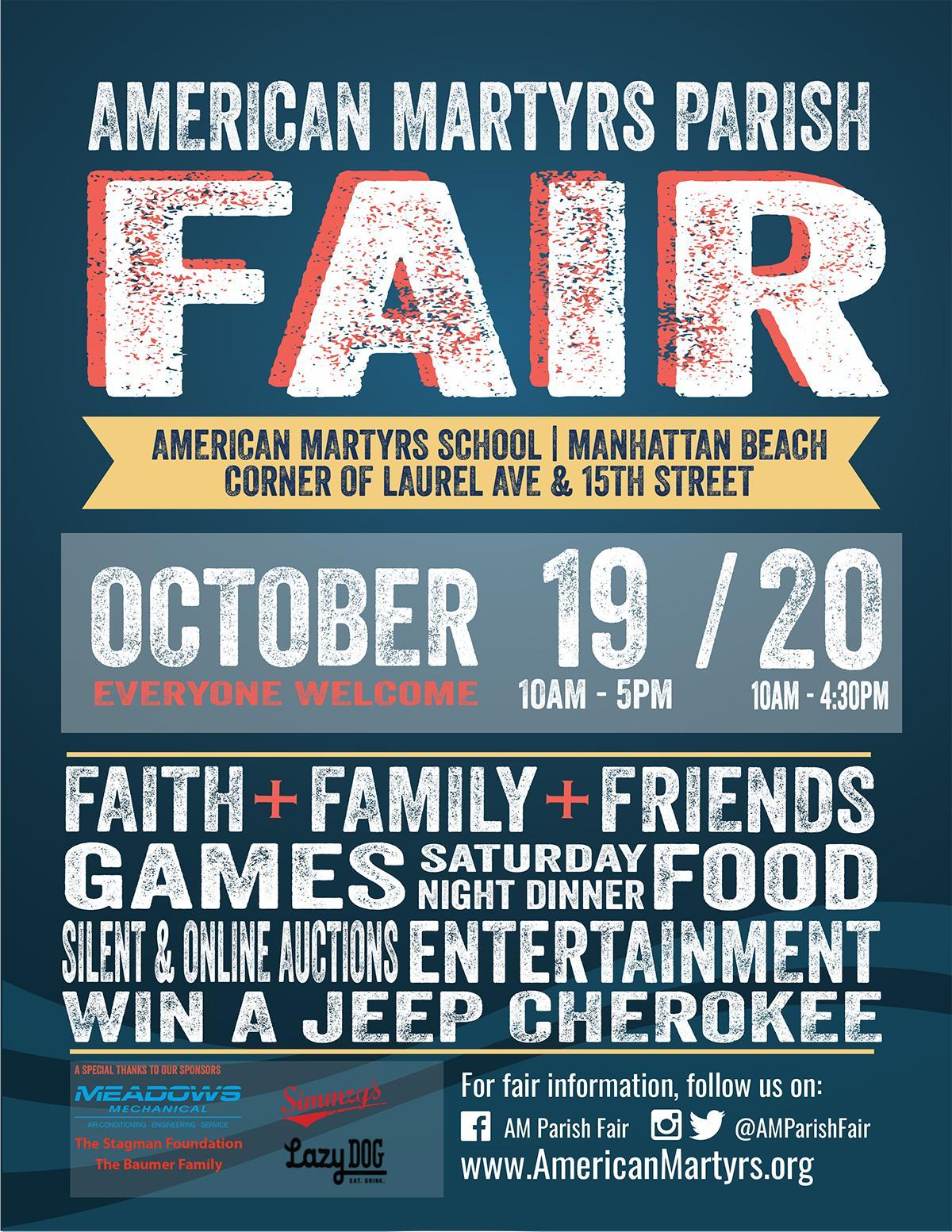 THE 49TH ANNUAL PARISH FAIR IS ALMOST HERE! Image