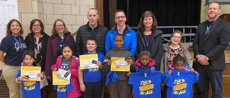 Frances Willard Students Awarded for being Terrific Kids Featured Photo