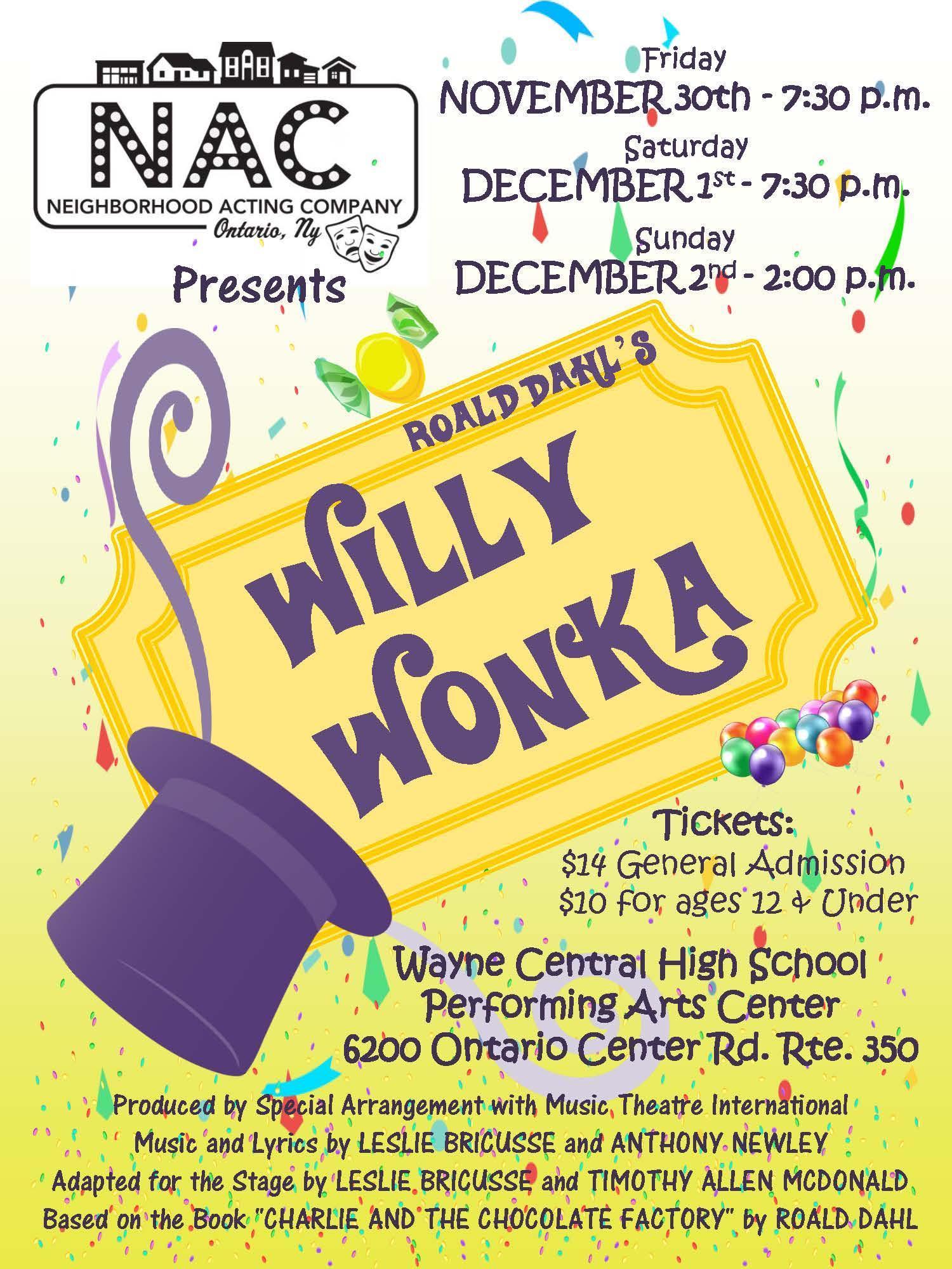 NAC Willy Wonka