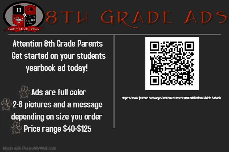 8th grade ads