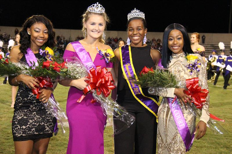 Bedenbaugh Crowned 2018 Homecoming Queen