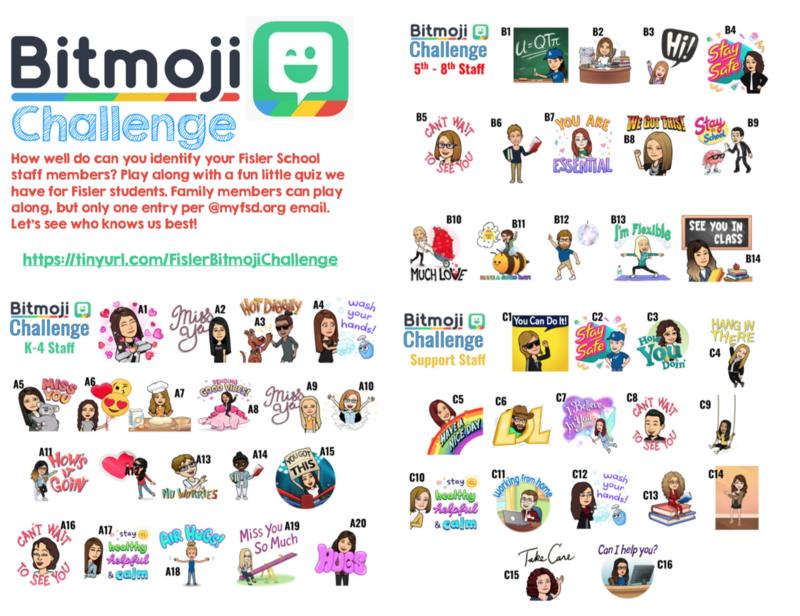 Bitmoji Challenge