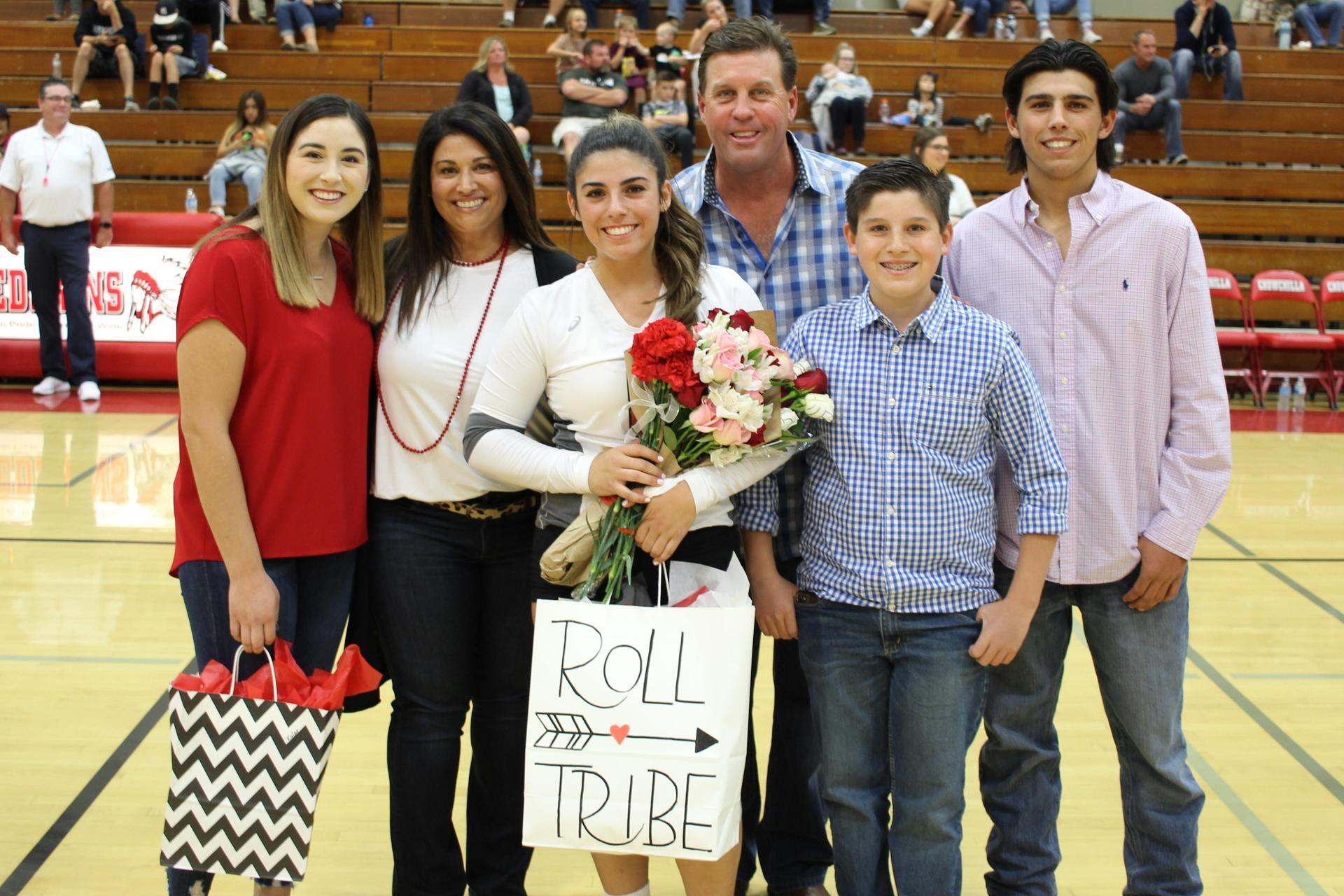 Kylar Kahl with family