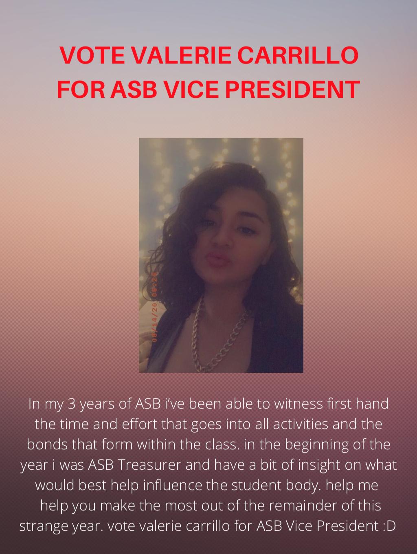 Vote for Valerie