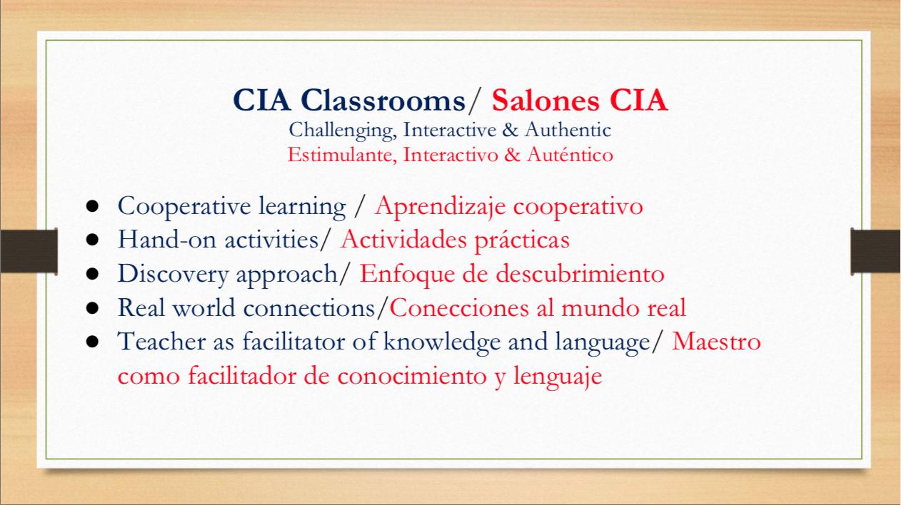 Dual langage slide 15
