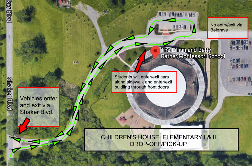 Children's House, EI & EII Arrival-Departure