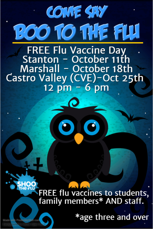 Boo to the Flu Flyer