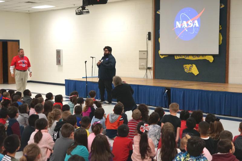 westwind students hear from NASA intern