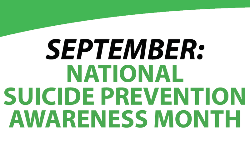 September Suicide Prevention Awareness Month Featured Photo