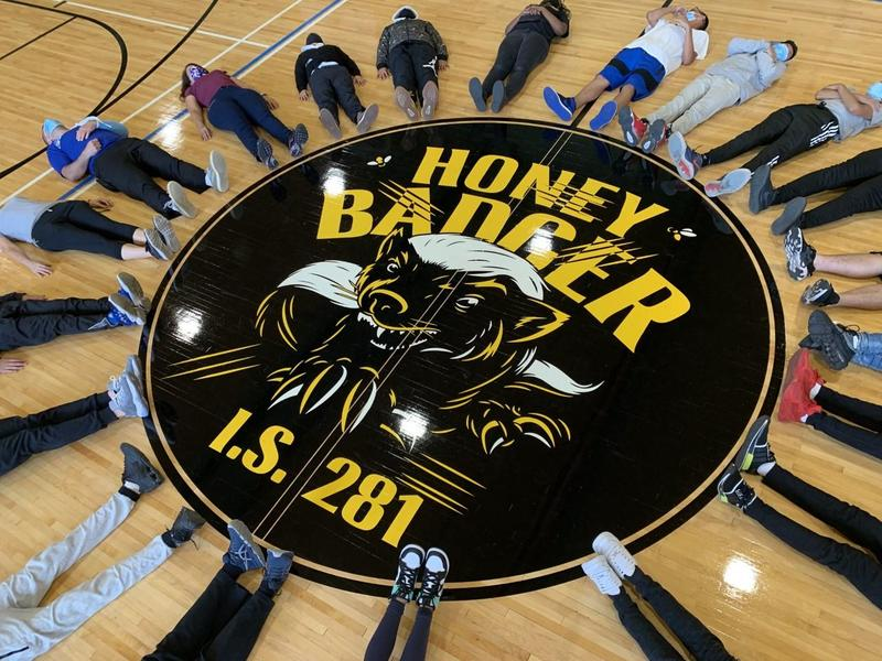 Cavallaro New Gym Floor 1 - Honey Badgers