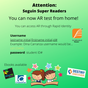 announcement of  AR quizzing