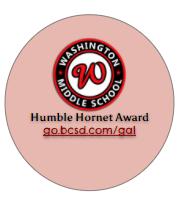 Humble Hornet Award