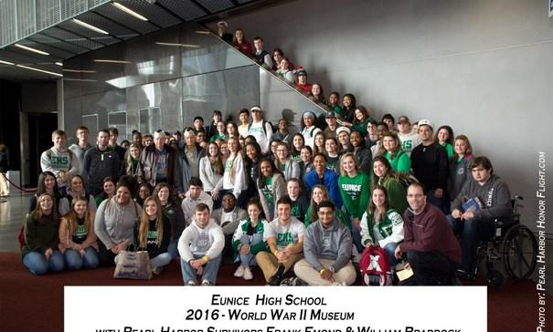 EHS students at World War II museum