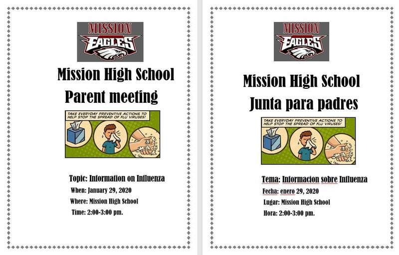 MHS Parent Meeting January 29, 2020 2-3 PM Featured Photo