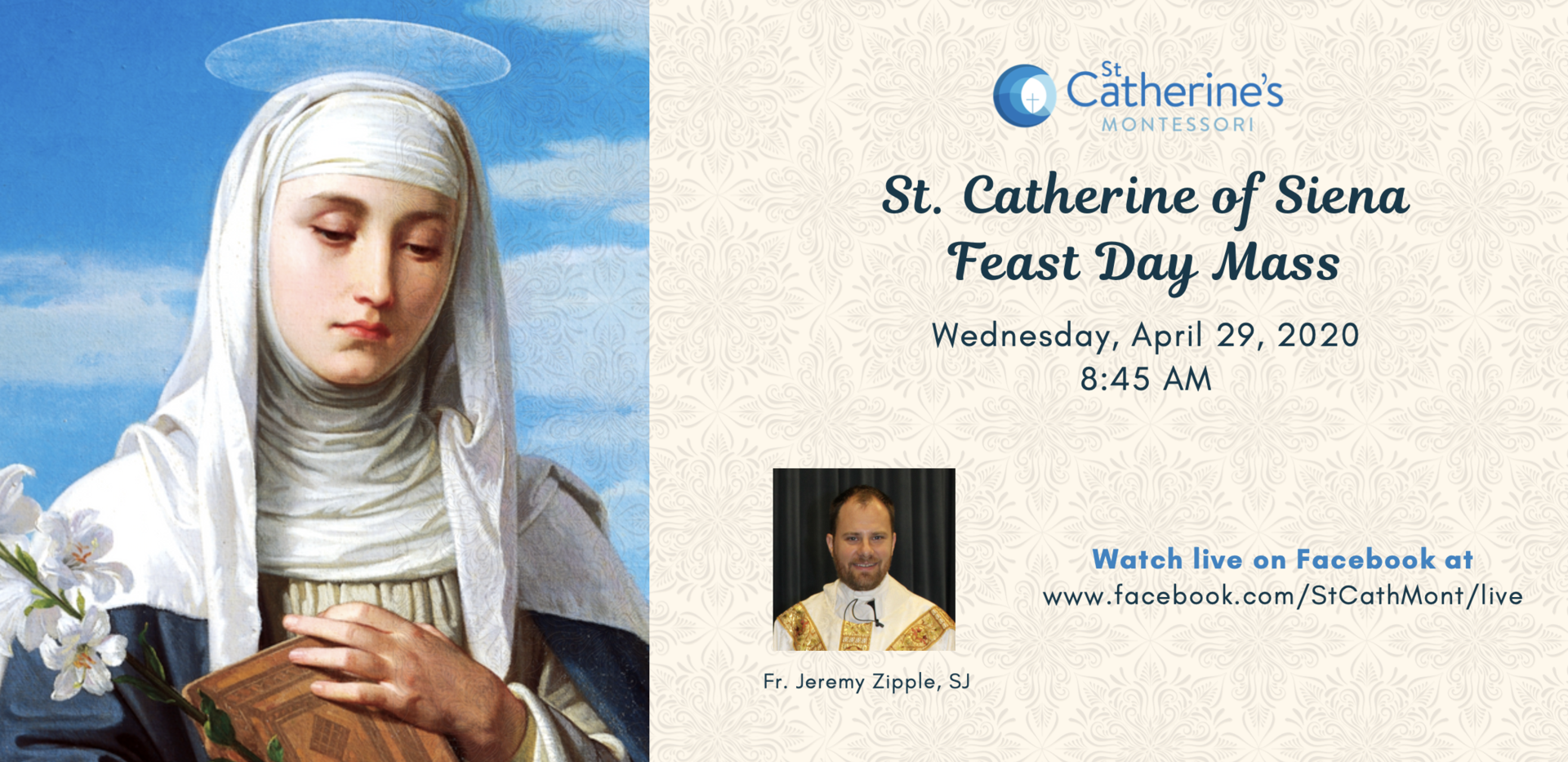 St Catherine Feast Day Mass