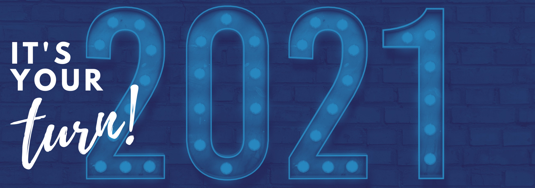 lighted numbers read it's your turn 2020
