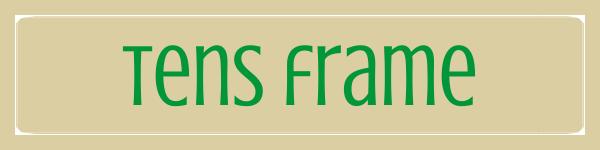Tens Frame