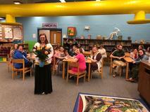 Congrats to Mrs. Davis Teacher of the year!