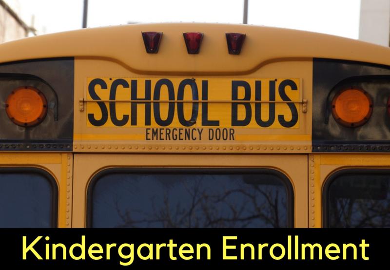 Kindergarten Enrollment Thumbnail Image