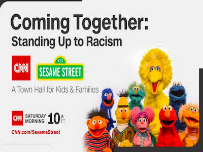 Coming Together: Standing Up to Racism. A CNN/Sesame Street Town Hall for Kids & Families Featured Photo
