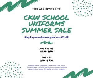 Facebook  CKW School Uniforms Summer Sale.png