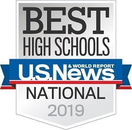 America's Best High School Rankings Badge