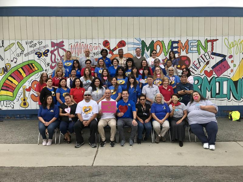 Alcott Elementary staff would like to remind our #EagleFamily to SOAR and Don't Quit! #Proud2bePUSD #Unified #POMONA #TogetherAsONE #ALLmeansALL