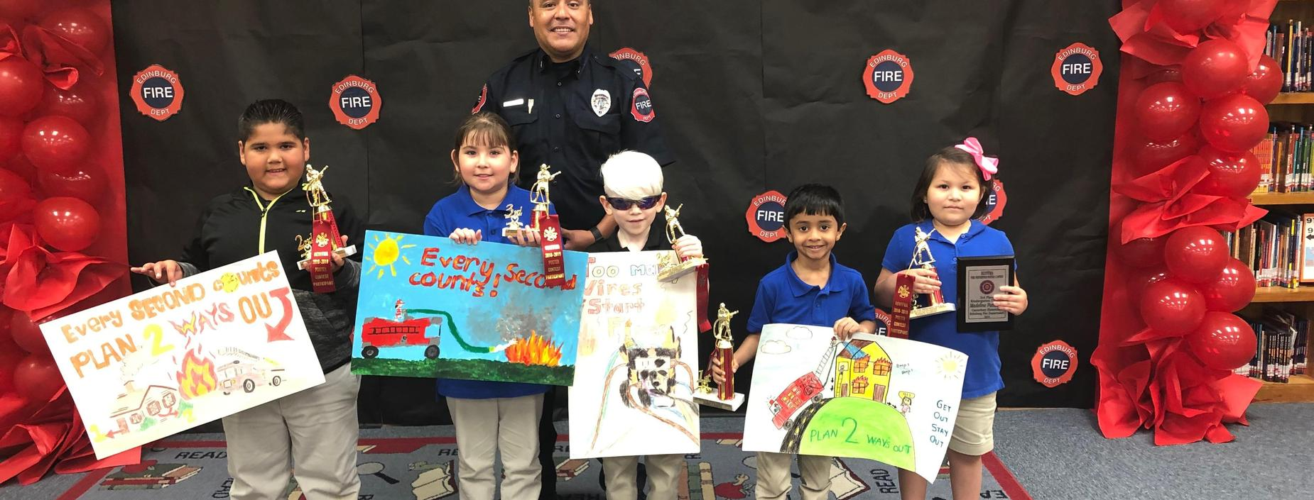 Fire Prevention Poster Contest Winner