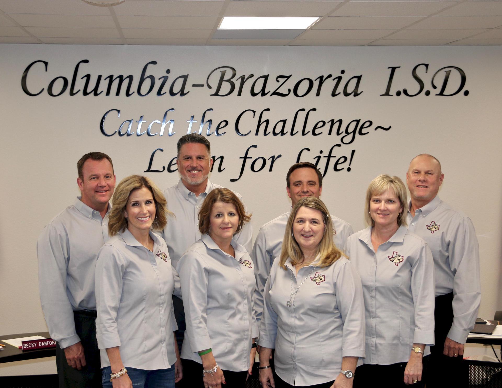 Columbia Brazoria Board of Truestees and CBISD Superintendant Steven Galloway