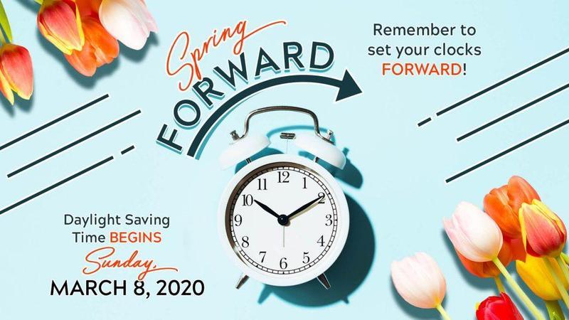 Daylight Savings begins Thumbnail Image