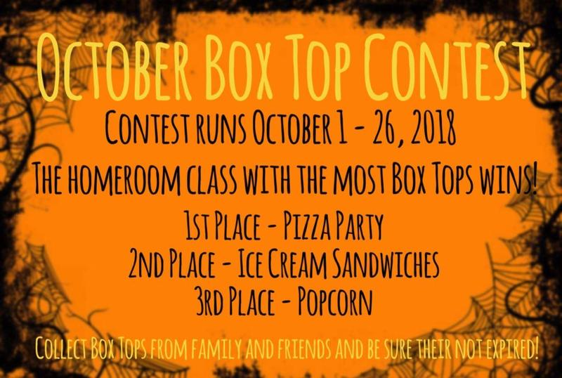 October Box Top Contest Featured Photo