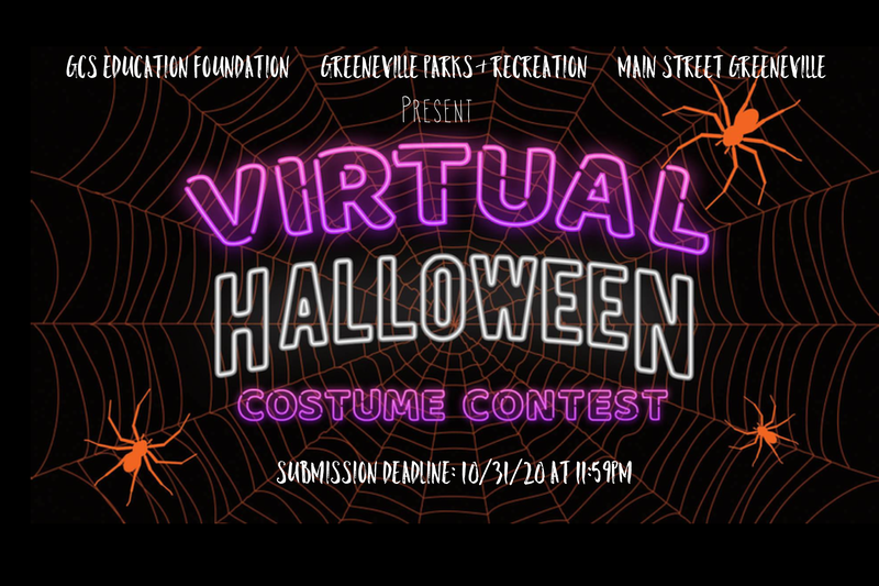 GCS Education Foundation, Greeneville Parks & Recreation, and Main Street Greeneville Host Virtual Costume Contest Featured Photo