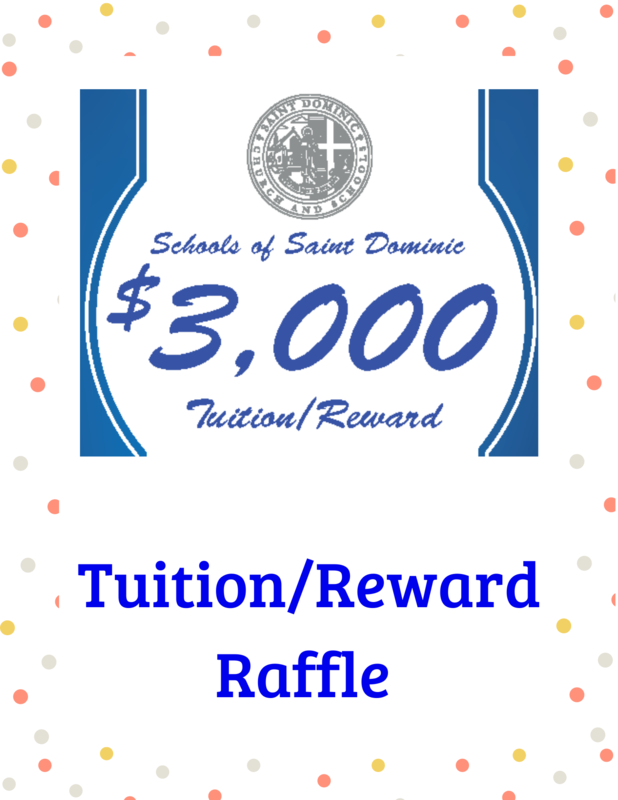 Schools of St. Dominic Tuition/Reward Raffle Featured Photo