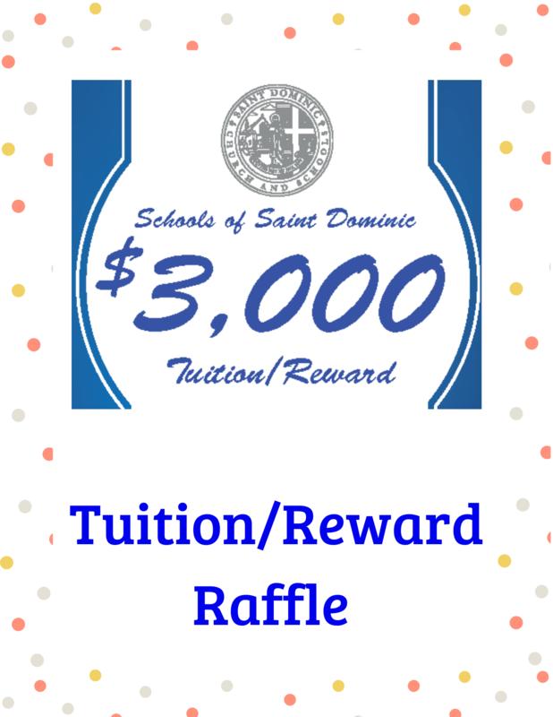 Schools of St. Dominic Tuition/Reward Raffle Featured Photo
