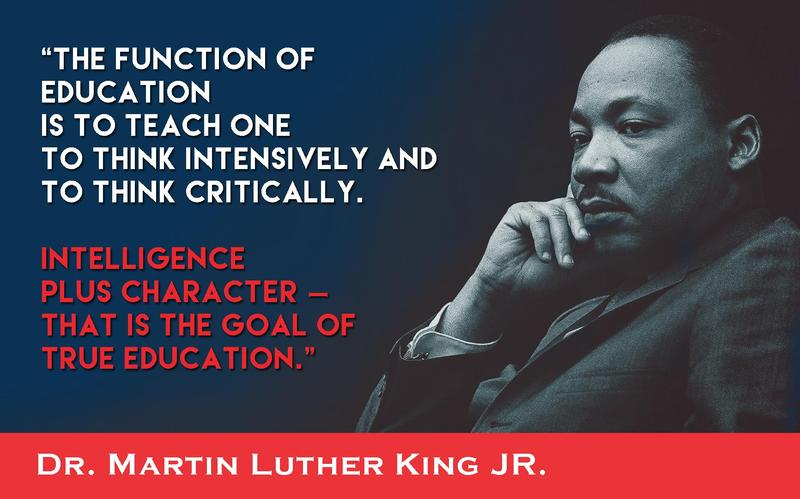 Monday, Jan 17th - Martin Luther King Day Featured Photo