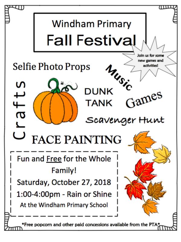 WPS Fall Festival Poster