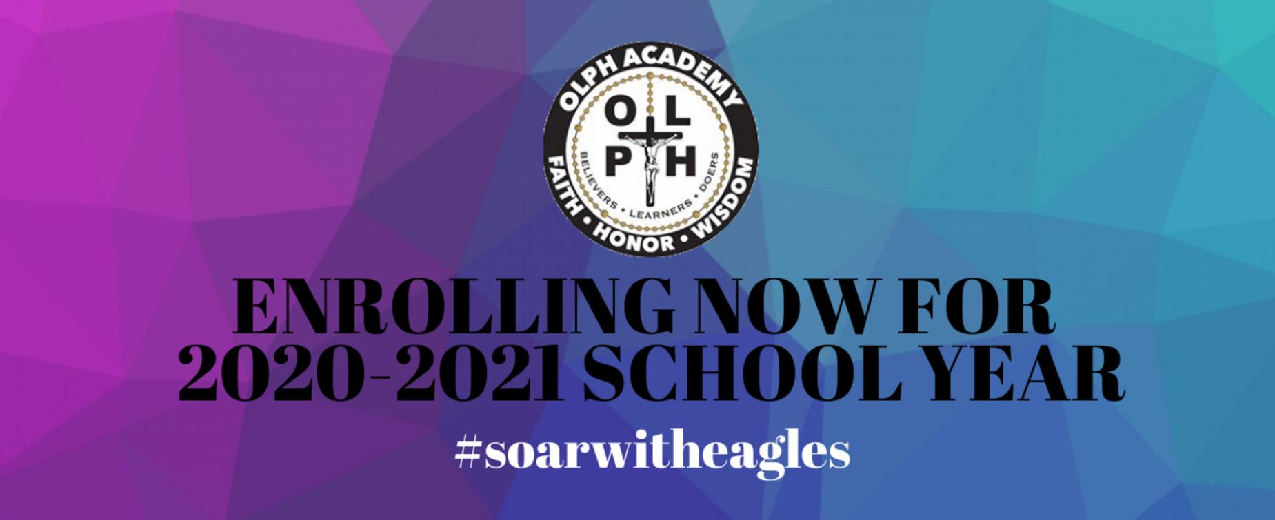 Enrolling now 2020-2021