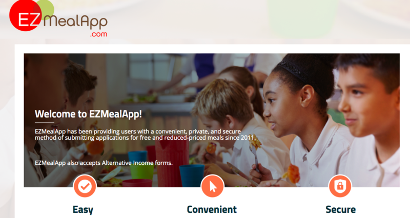 Free and Reduced Meals Application Featured Photo