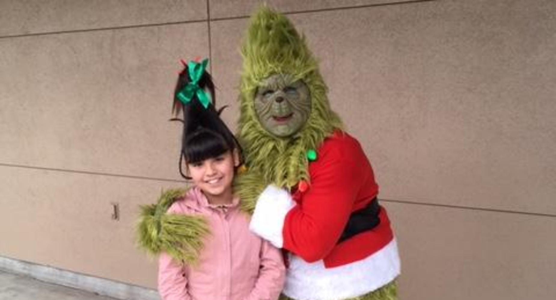 Mr. Grinch and Cindy Loo