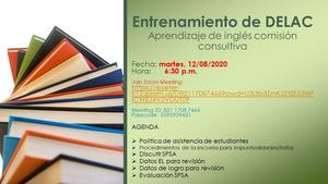 delac training spanish