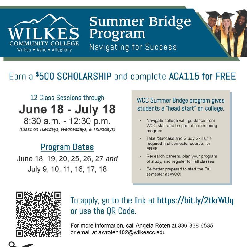 WCC Summer Bridge Program Thumbnail Image