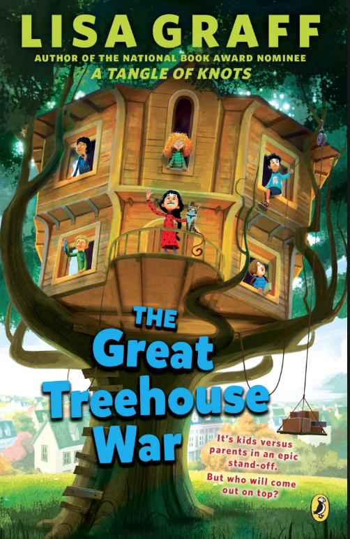 Book cover The Great Treehouse War