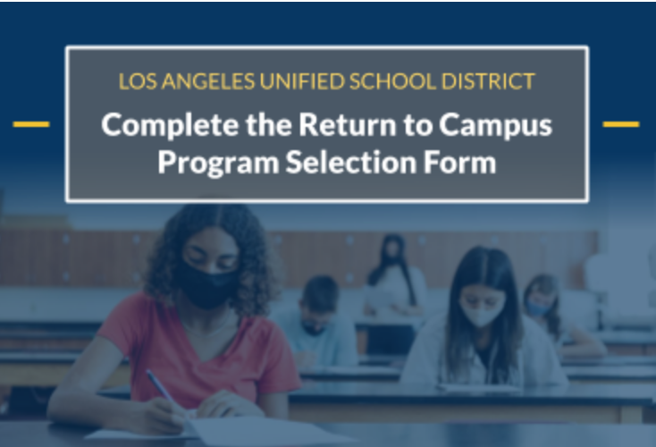 Complete the Return to Campus Program Selection Form Featured Photo