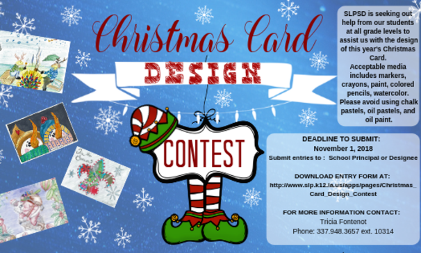 SLPSB Christmas Card Contest
