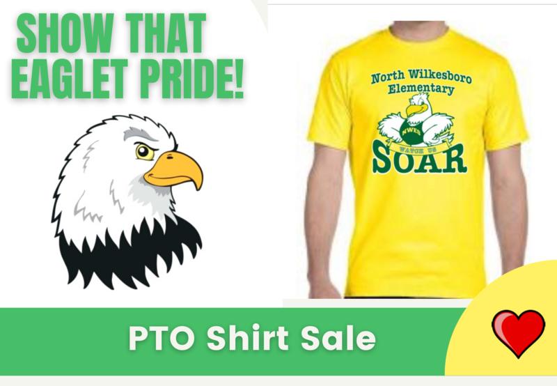 NWES PTO Shirt Sale Through Sept. 17