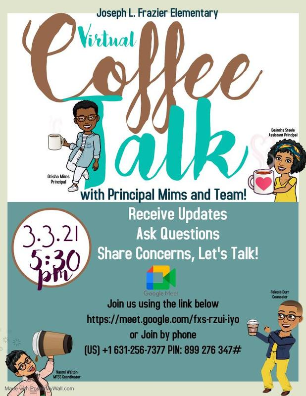 Frazier Coffee Talk